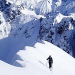 Liechelkopf ski tour, Kleinwalsertal 2017-02-09