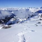Toreck ski tour, Kleinwalsertal 2017-03-05
