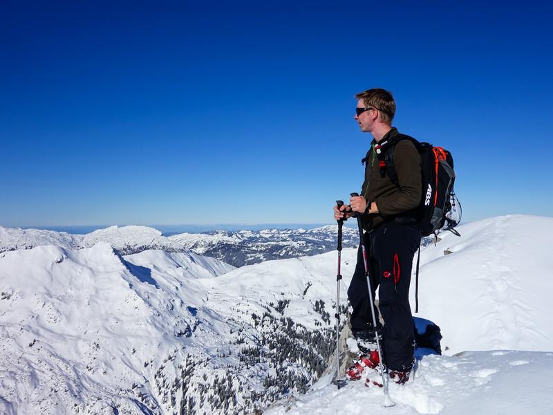 The summit of Alpgundkopf!