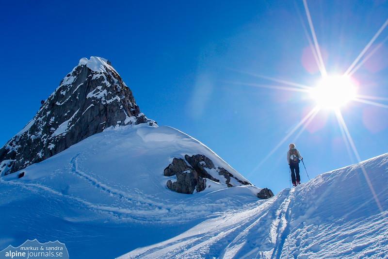 Weisser Schrofen summit!