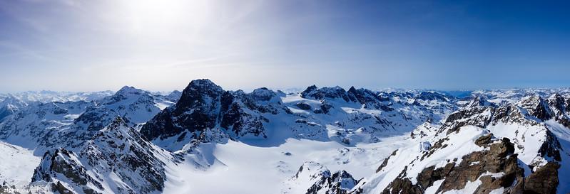 View from Dreiländerspitze