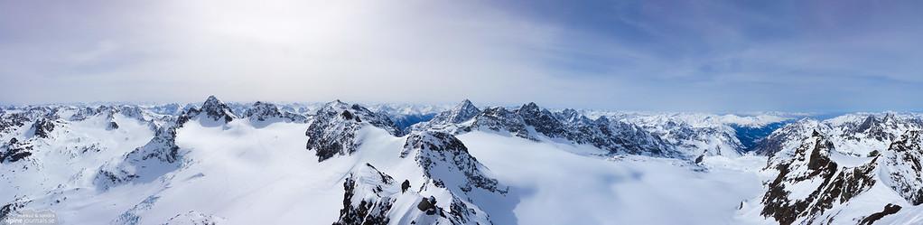 View from Silvrettahorn