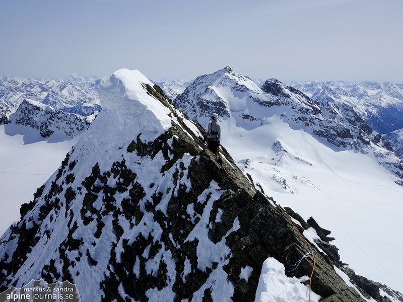 Summit ridge of Signalhorn