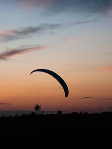 Paragliding at Headingley