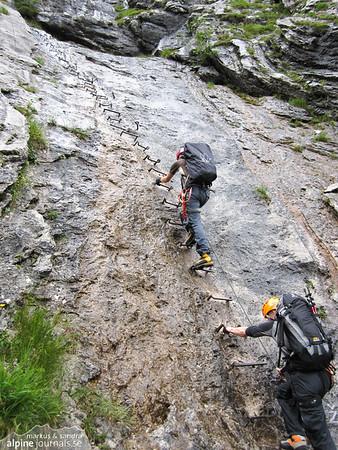 Wet ladders