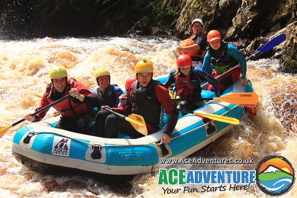 White Water Rafting & Cliff Jumping