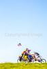 ACA - TransAm rider(s) on route between Chanute & Coyville, Kansas - C3-0078 - 72 ppi-2