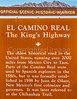 New Mexico - El Camino Real highway marker north of Las Cruces - C3-0176 - 72 ppi