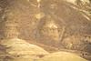 Winter bike tourer on dirt road in Oregon's John Day Fossil Beds Nat'l Monument - 72 ppi 3