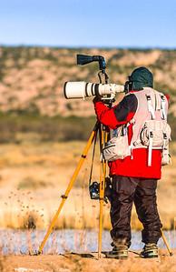 Photographer at Bosque del Apache Nat'l Wildlife Refuge, NM - 2 - 72 ppi-2