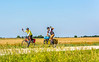 ACA - West-to-East TransAm riders seen near Coyville, Kansas  - C1-0646 - 72 ppi
