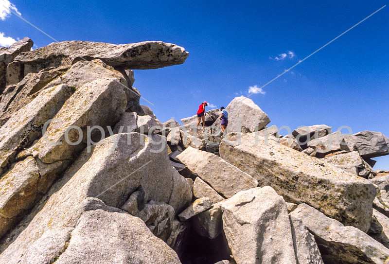 Hiker(s) on route to Lone Peak in Wasatch Mountains near Salt Lake-10 - 72 ppi