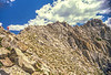 Hiker(s) on route to or from Lone Peak in Wasatch Mountains near Salt Lake --72 - 72 ppi