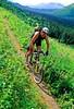 Mountain biker(s) in Chugach Mountains on Alaska's Kenai peninsula  - B ak chugach 10 - 72 dpi 2