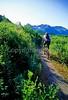 Mountain biker(s) in Chugach Mountains on Alaska's Kenai peninsula  - B ak chugach 18 - 72 dpi 2