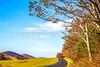 TransAm & Bike Route 76 riders on Blue Ridge Parkway near Reeds Gap, VA - C3-0282- - 300 ppi