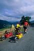 Cyclists on Skyline Drive in Shenandoah National Park, Virginia - 10 - 72 dpi