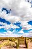 New Mexico - Cyclist on NM 1, Camino Real, south of Bosque del Apache & Socorro - D6-C2-0073 - 72 ppi