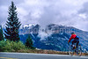 Thin-tire cyclist on US 550 between Silverton & Durango, CO - 1 - 72 ppi