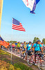 Ragbrai 2014 - Leaving Rock Valley, Iowa, in early morning - D1-C2-0596 - 72 ppi-2