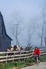 Biker on morning workout ride near Kentucky River between  Richmond & Lexington, KY - 7 - 72 ppi