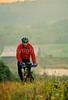 Mountain biker along the Kentucky River in Madison County, Kentucky - 72 dpi - -15