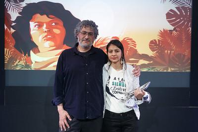Premios Artemio Precioso 2017, Berta Cáceres