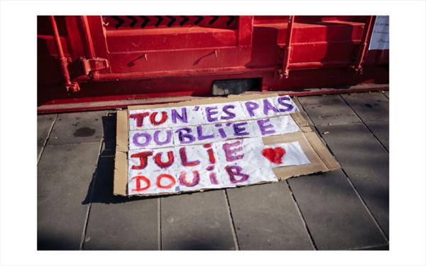 Dimanche 07 Mars 2021, de nombreuses personnes se sont rassemblees Place de la Republique a Paris pour defendre les droits des femmes a la veille de la journee internationale des droits des femmes