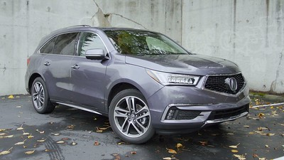 2017 Acura MDX Advance AWD Parked Footage