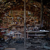 Interior - William 'Burro' Schmidt Cabin - Last Chance Canyon - 2011