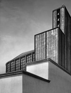 07 Otto Bartning, Stahlkirche auf der Ausstellung Pressa, Köln, 1928.