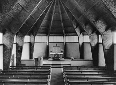 11 Otto Bartning, Notkirchen nach 1946. Johanneskirche, Wuppertal-Elberfeld, 1948/49.