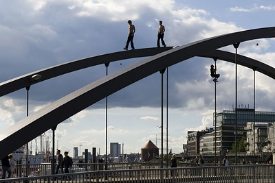 02 Niederbaumbrücke, Hamburg, 2010 | Niederbaum bridge, Hamburg, 2010
