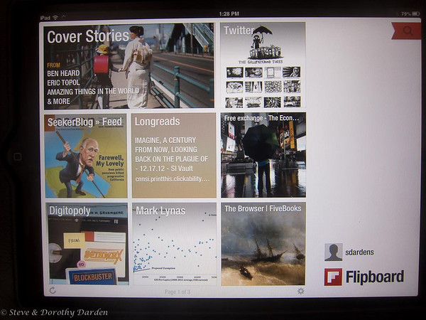 Flipboard iPad configuration