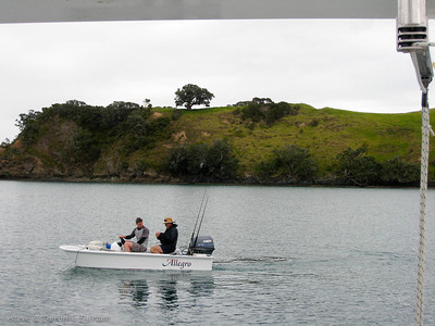 Andrew and Ian took ALLEGRO out for some fishing.