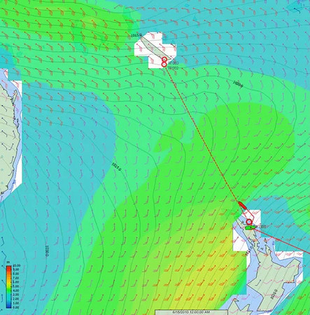 ADAGIO weather routing