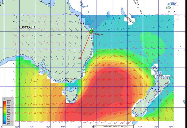 Tasman storm