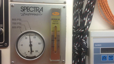 Spectra Pressure GPH cycling