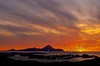 Scenery, Adak, Alaska, Tanaga Volcano