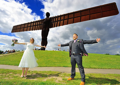 Adam & Amanda Johnson Wedding, Gateshead, 30.7.16