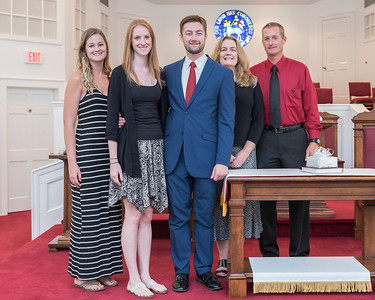 Adam Goodrich Ordination Reception