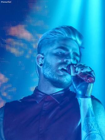Adam Lambert, Manchester, 4-16-16