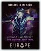 SHΛRKΛ  ☕ @creativesharka I can´t wait 😍. My new fanmade poster @adamlambert #TOHTour #adamlambert #fanart