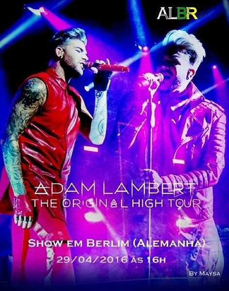 Adam Lambert Brasil ❤ @AdamLambertBr  STREAMS: http://mixlr.com/annabert/   http://mixlr.com/rabbitholegirl/  (se tiver WI FI)