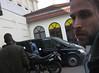 Marcel @marzey_rocks  Adam Lambert arriving at the Huxley's in Berlin #AdamLambert #Berlin #Huxleys
