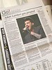 HoustonAndy ‏@houstonandy  Nice 1/2 page article in Ft Lauderdale Sun Sentinel.@adamlambert #TohUSTour #Glamberts #