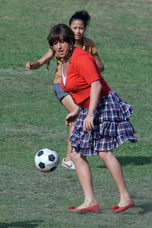 Adam Sandler during the set of Jack and Jill in Los Angeles,California on October 14,2010.