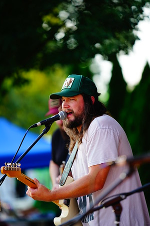 "Adam Wakefield  Gas City ""Concerts in the Park"" 7-19-18"