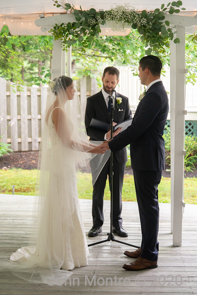 The wedding of Adam and Martha
