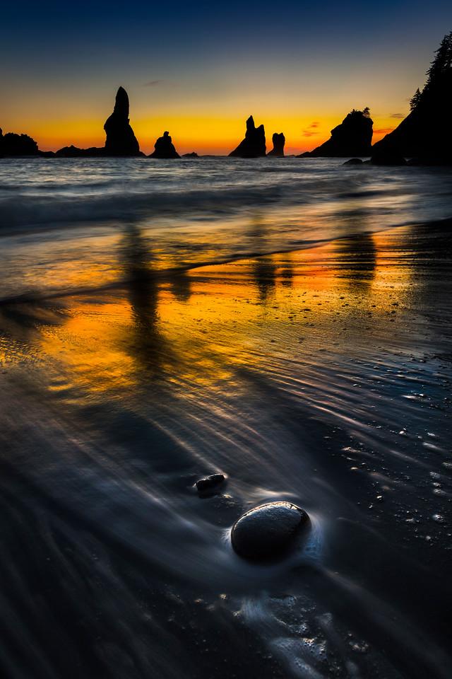 Shi Shi at dusk